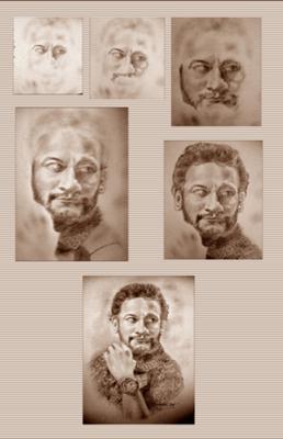 Actor - Draw Lifelike Pencil Portraits
