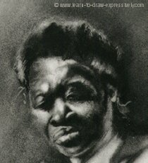 How to draw hair - Esther Philips 2
