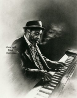How to draw hands - Thelonious Monk