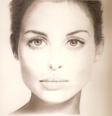 Model from magazine