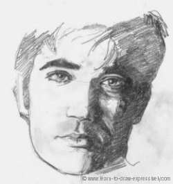 How to draw heads - Rex Reed