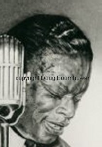 How to draw hair - Nat King Cole 2