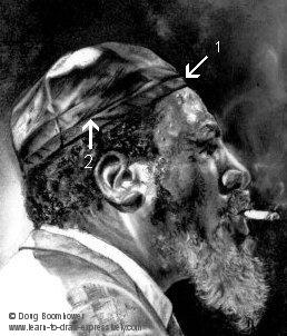 Leather texture - Thelonious Monk's Skullcap
