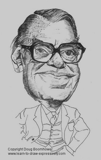 How to draw caricatures - Paul Martin Sr.